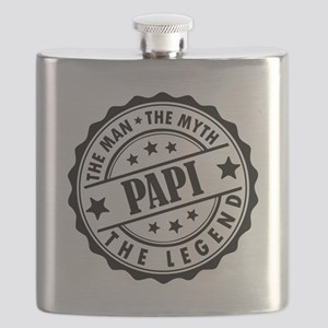 Papi - The Man The Myth The Legend Flask