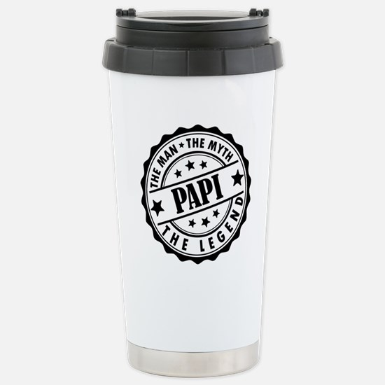 Papi - The Man The Myth The Legend Travel Mug