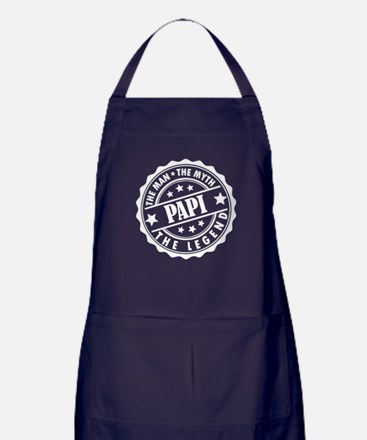 Papi - The Man The Myth The Legend Apron (dark)