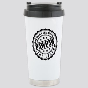 Pawpaw - The Man The Myth The Legend Travel Mug