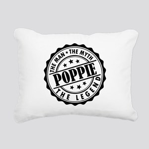 Poppie - The Man The Myth The Legend Rectangular C