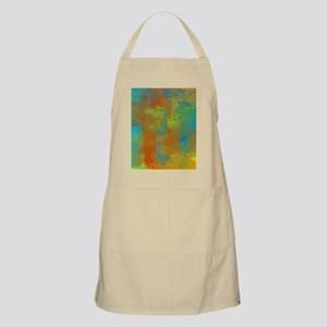 Blue, Copper, and Gold Abstract Apron