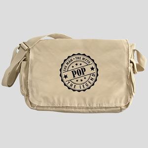 Pop - The Man The Myth The Legend Messenger Bag