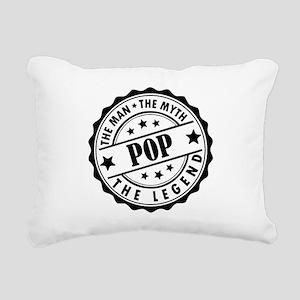 Pop - The Man The Myth The Legend Rectangular Canv