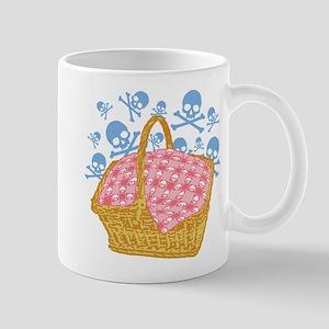 Cute Skulls Picnic Basket Mugs