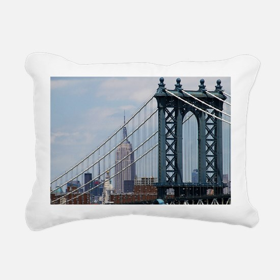 Empire State Building Ma Rectangular Canvas Pillow
