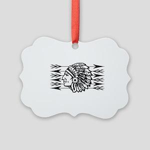Native American Arrow Design Ornament