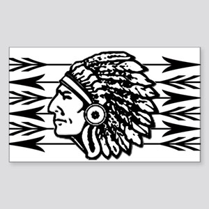 Native American Arrow Design Sticker