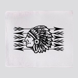 Native American Arrow Design Throw Blanket