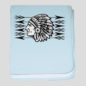 Native American Arrow Design baby blanket