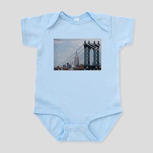 Empire State Building Manhattan Bridge N Body Suit