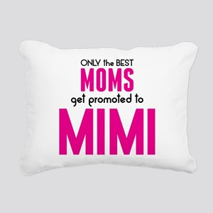BEST MOMS GET PROMOTED TO MIMI Rectangular Canvas