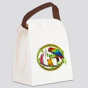 It's a Parrot Thing! Canvas Lunch Bag