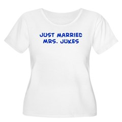 just married Mrs. Jukes T-Shirt