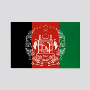 Afghanistan Flag Rectangle Magnet