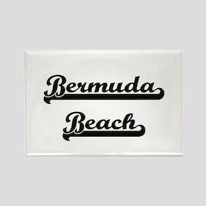 Bermuda Beach Classic Retro Design Magnets