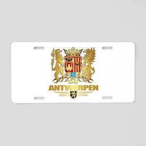 Antwerpen COA Aluminum License Plate