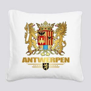 Antwerpen COA Square Canvas Pillow