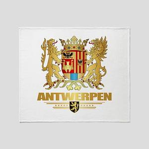 Antwerpen COA Throw Blanket