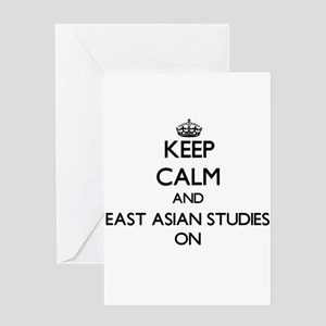 Keep Calm and East Asian Studies ON Greeting Cards