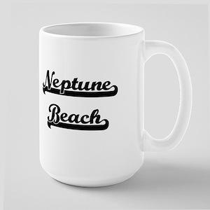 Neptune Beach Classic Retro Design Mugs