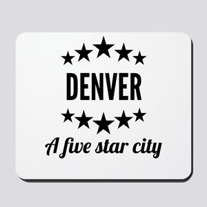 Denver A Five Star City Mousepad