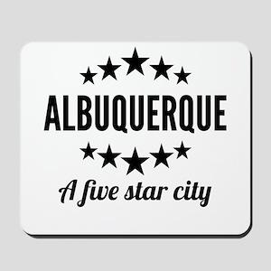 Albuquerque A Five Star City Mousepad