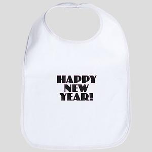 Happy New Year Baby Bib