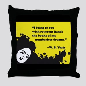Books of numberless dreams Throw Pillow