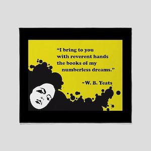 Books of numberless dreams Throw Blanket