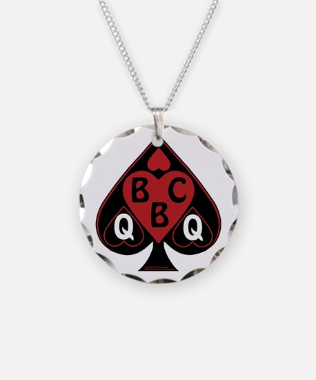 Queen Of Spades Loves Necklace