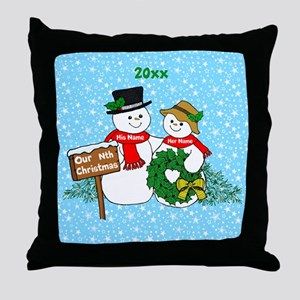 Our Nthe Christmas Throw Pillow