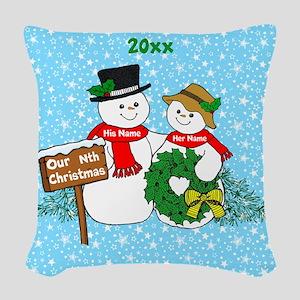 Our Nthe Christmas Woven Throw Pillow