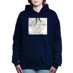 Parapsychology Wordle Women's Hooded Sweatshirt
