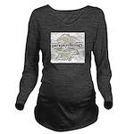 Parapsychology Wordl Long Sleeve Maternity T-Shirt