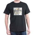 Parapsychology Wordle Dark T-Shirt