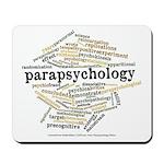 Parapsychology Wordle Mousepad