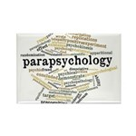 Parapsychology Wordle Rectangle Magnet (10 pack)