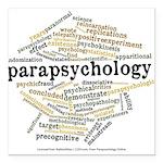 Parapsychology Wordle Square Car Magnet 3