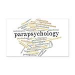 Parapsychology Wordle Rectangle Car Magnet