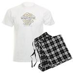Parapsychology Wordle Men's Light Pajamas