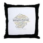 Parapsychology Wordle Throw Pillow