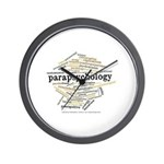 Parapsychology Wordle Wall Clock