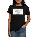 Parapsychology Wordle Women's Dark T-Shirt