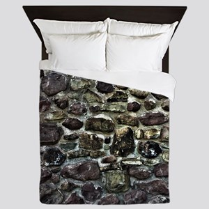 Stone Wall Queen Duvet