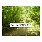 ParaMOOC2015 Square Car Magnet 3