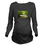 ParaMOOC2015 Long Sleeve Maternity T-Shirt