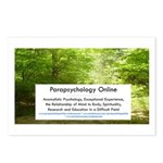Parapsychology Online Complete Postcards (Package