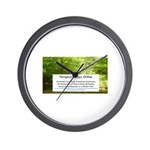 Parapsychology Online Complete Wall Clock