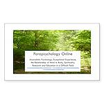 Parapsychology Online Complete Sticker